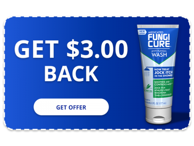 FUNGICURE Medicated Jock Itch Anti-Fungal Wash - $3.00